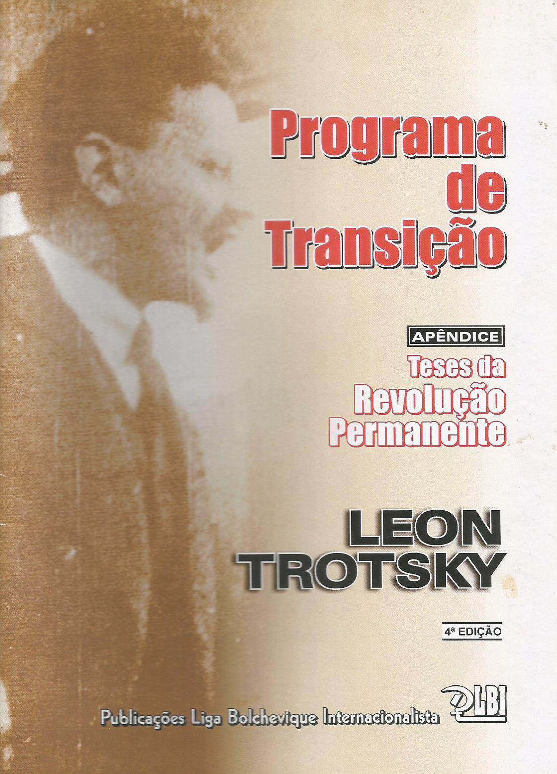 PROGRAMA DE TRANSIÇÃO E TESES DA REVOLUÇÃO PERMANENTE
