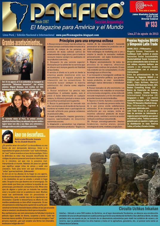 Revista Pacífico Nº 133 Arqueología