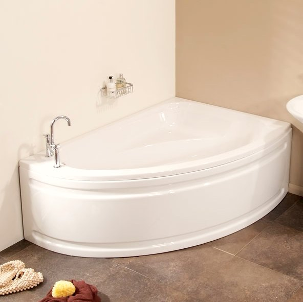 Small Corner Bath : bathroom repair: corner bathtubs