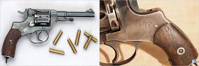 Revolver Nagant Tula 1939