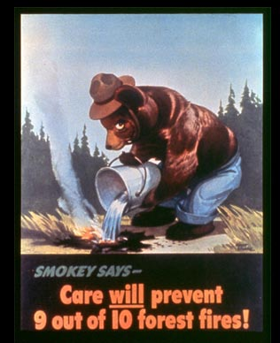 Original Smokey Bear Poster