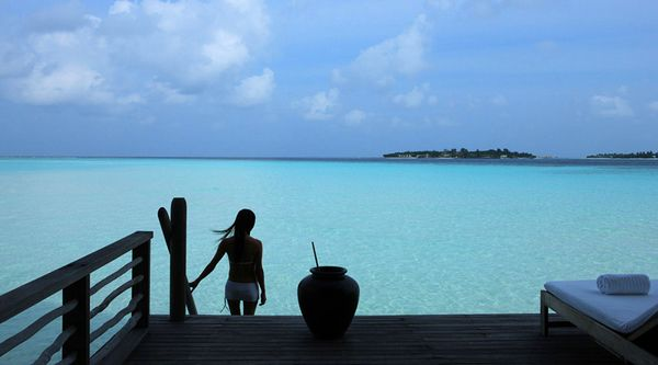 Beautiful Cocoa Island Maldives
