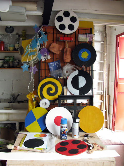 cirque - atelier d'artiste - Brigitte Rio