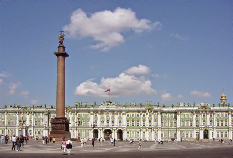 The Alexander Column and the Winter Palace
