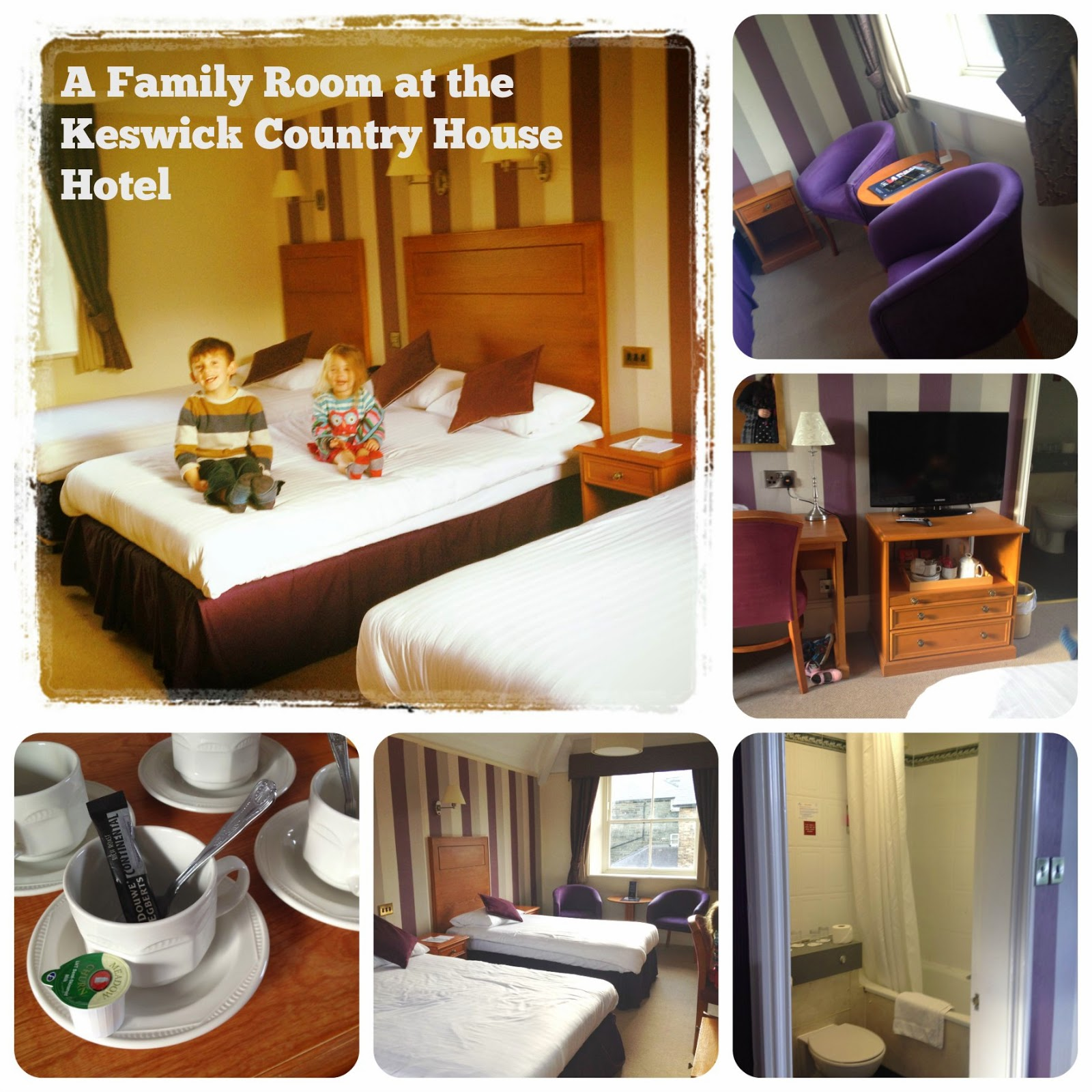 A family room at the Keswick Country House Hotel