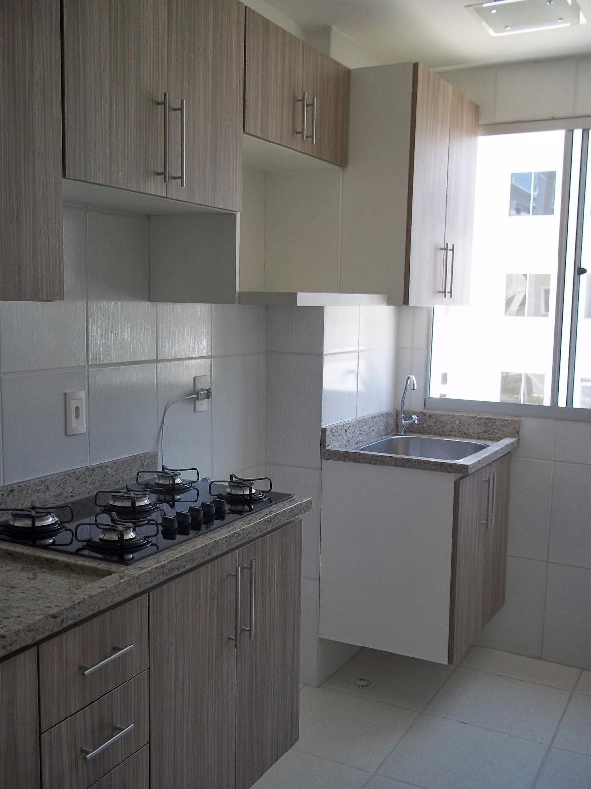 de Marcenária e Montagem de Móveis: cozinha com lavanderia em mdf  #51667A 1200 1600