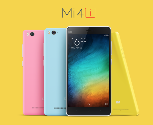 Xiaomi Mi 4i Announced, Rocks Snapdragon 615 Octa-core for P9,100