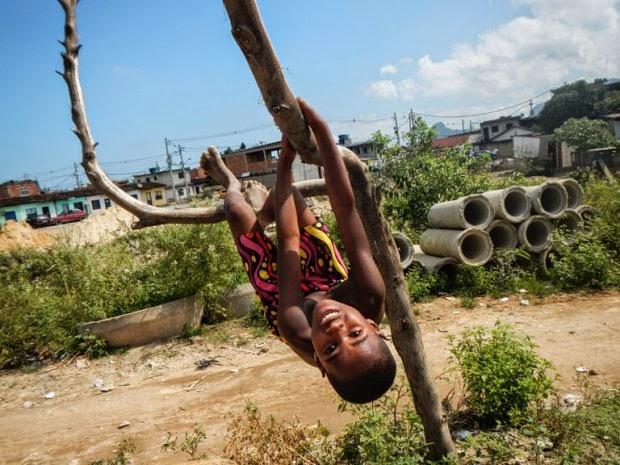 La pasión por el fútbol en la famosa favela Ciudad de Dios