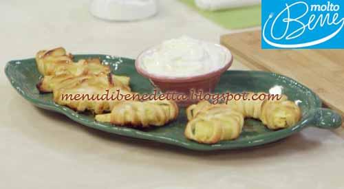 Mezze lune di ananas ricetta Parodi per Molto Bene su Real Time