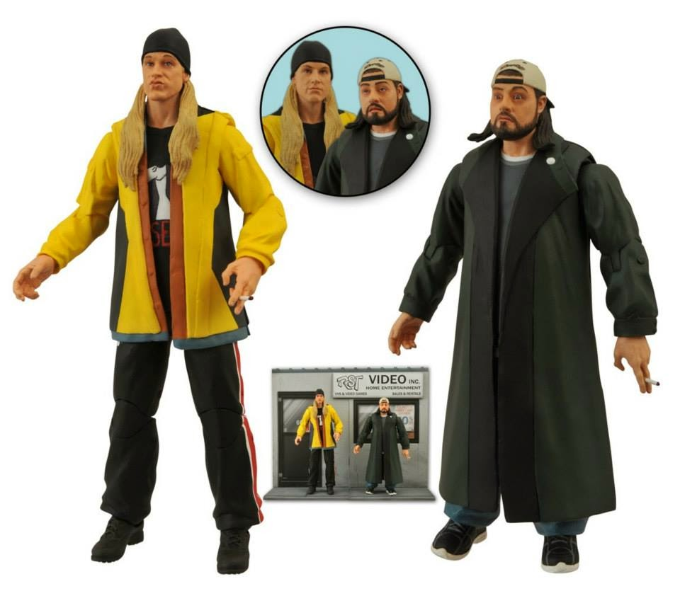 Diamond Select - Jay & Silent Bob figures