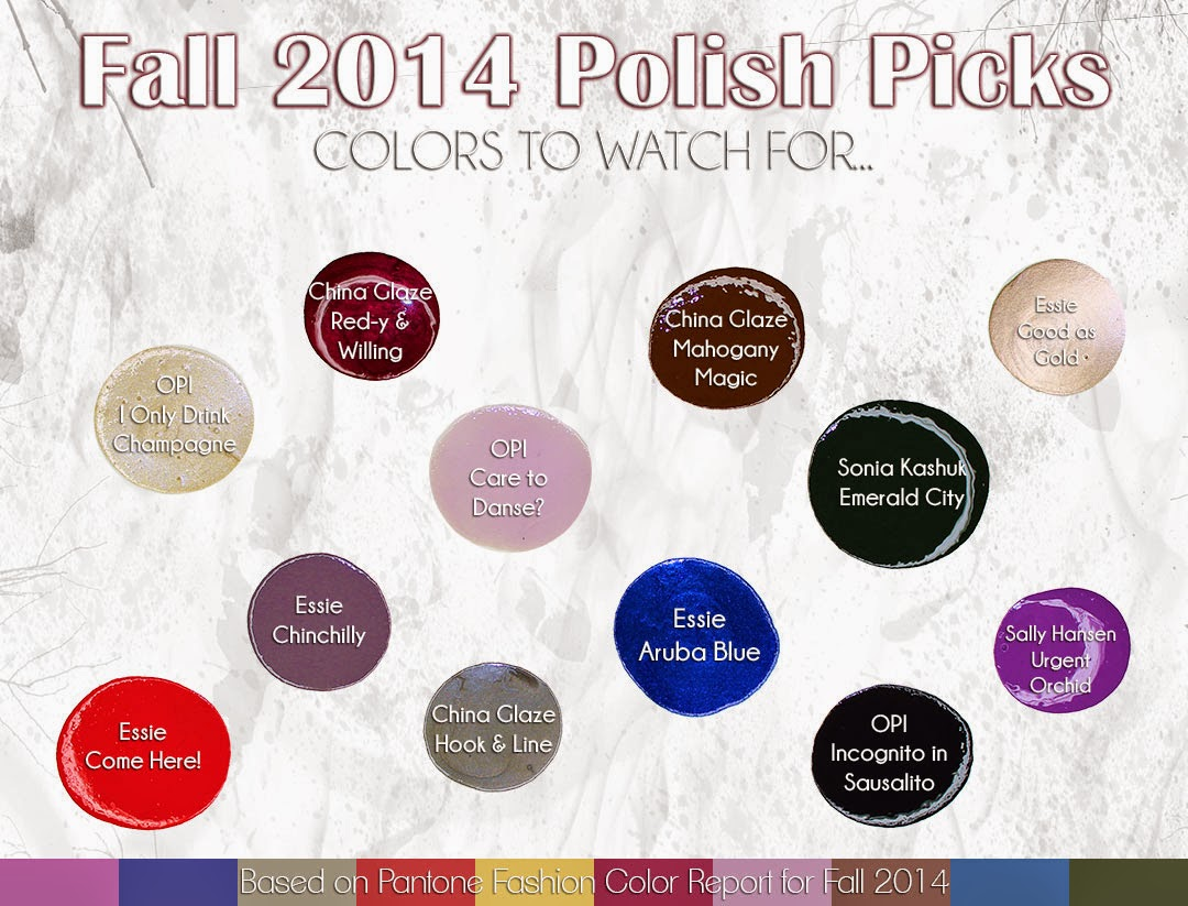 Fall 2014 Polish Picks Colors To Watch For