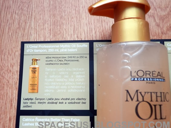 kosmetika, mathic oil, recenze ladybox