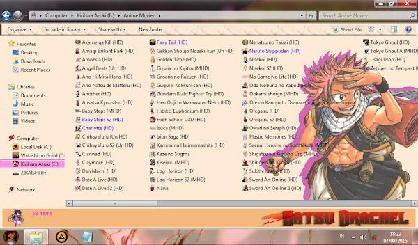 [Theme Windows 7] Natsu Dragneel 3
