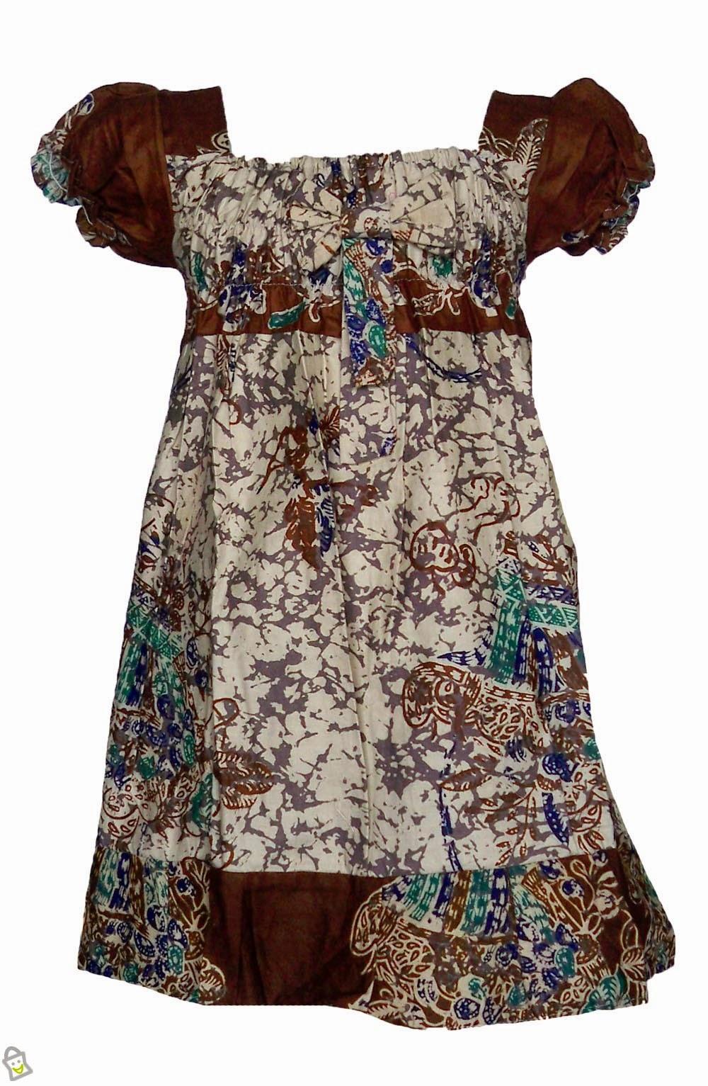 Kumpulan Model Baju Batik Modern Untuk Anak Perempuan Cinuy Blog