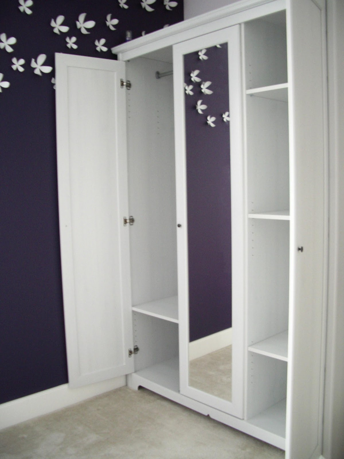 Ikea Aspelund Dressing Table ~   Dressing Room furthermore Wardrobe With Sliding Doors on 3 door