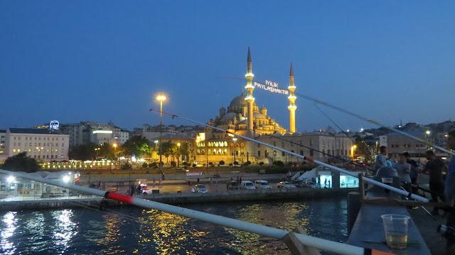 Istambul, vista da Ponte de Gálata (2015)