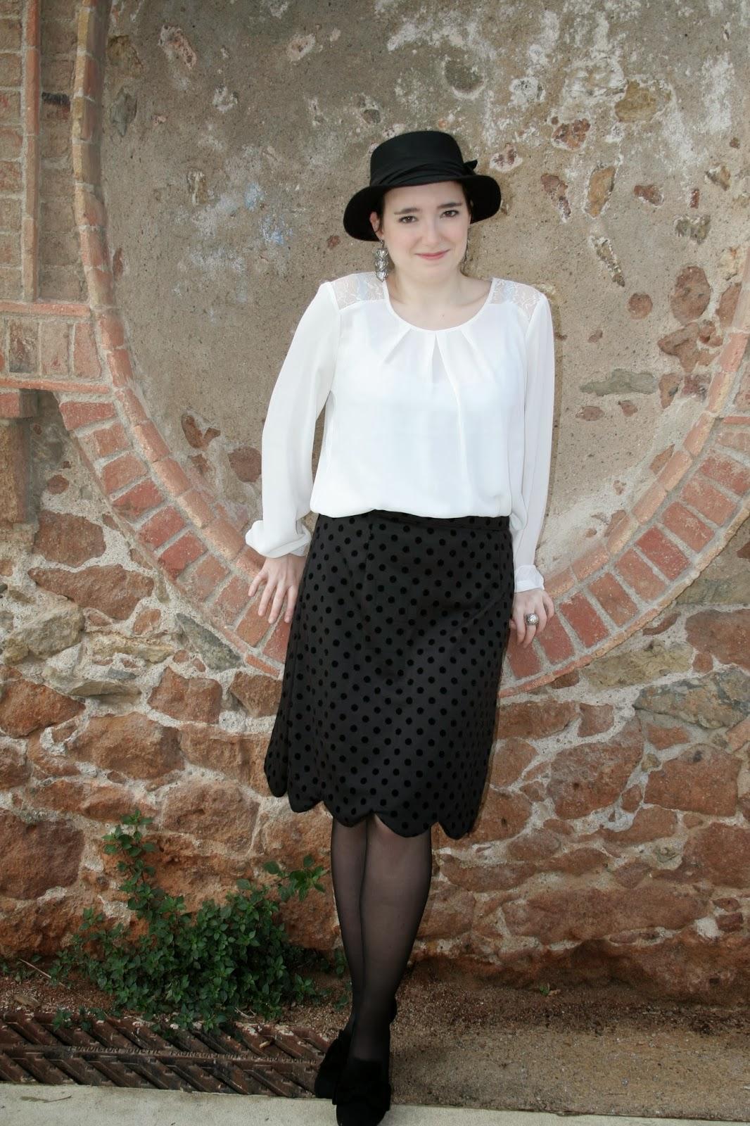 colette meringue skirt falda modistilla de pacotilla