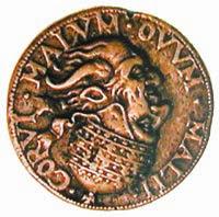 Одна из первых и старых иллюзий на монете