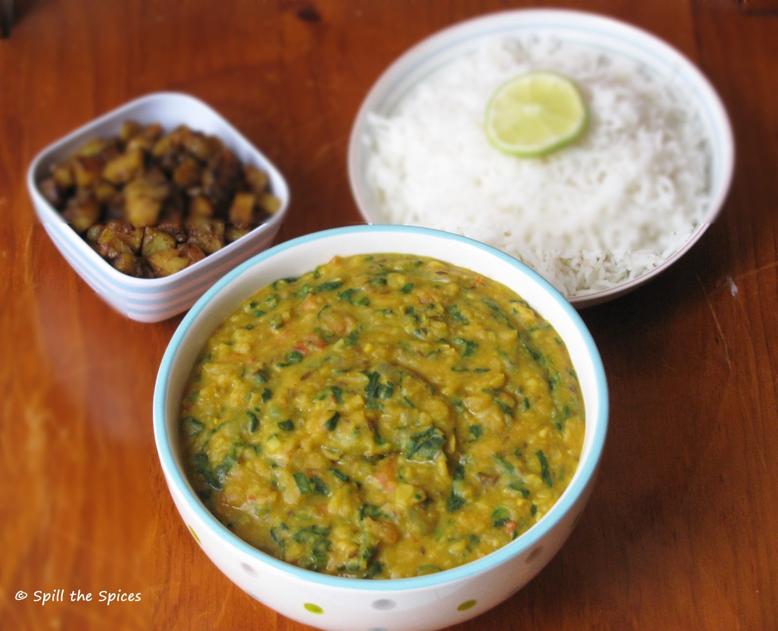 Dal Palak | Spinach Dal | Spill the Spices