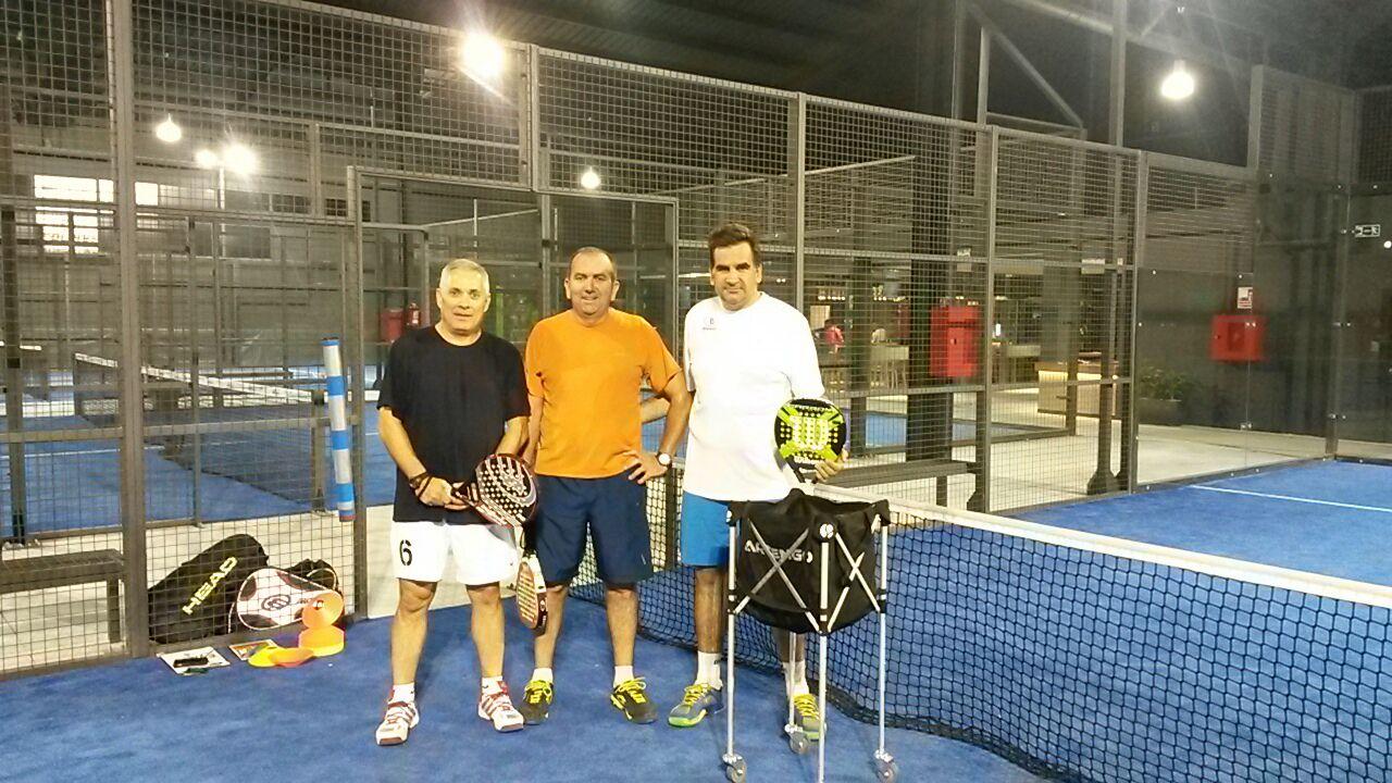 Con mis alumnos Paco Fernández y Massi Mazza