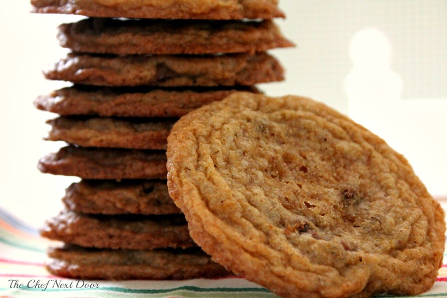 Whole Wheat Milk Chocolate Chip Cookies