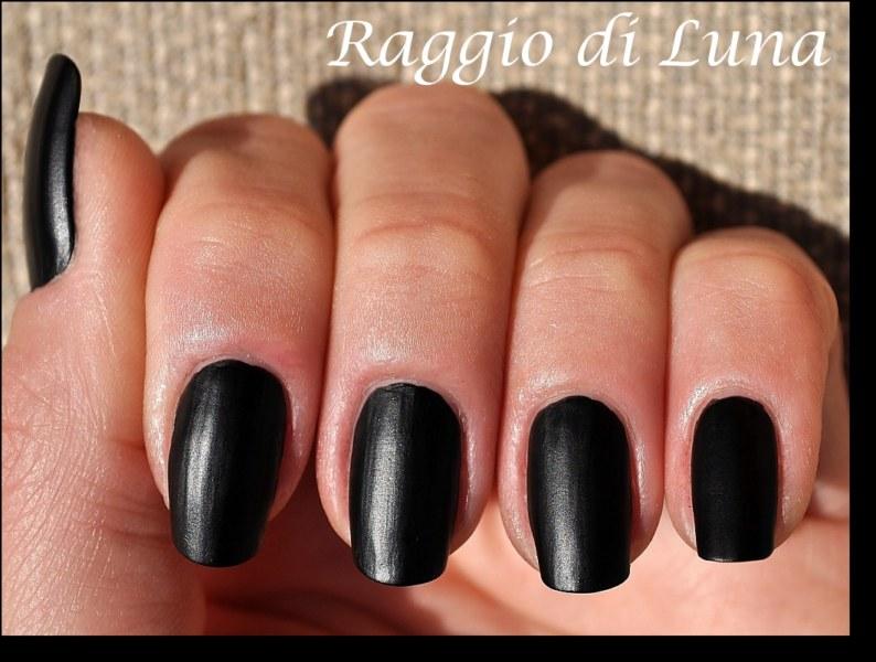Raggio di Luna Nails: Deborah Sense Tech 100% Mat n° 01 black