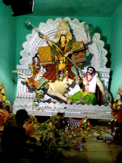 Ama Medha: Durga Puja 2015 From Korabandi, Ragadi, Jajpur - Photo By Rakesh Kumar Jena
