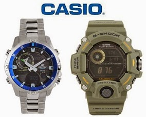 Get Upto 5% Off + Extra upto 42% Off on Casio Watches @ Myntra