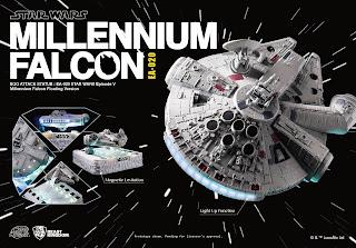 Illuminazione a Led per il Millennium Falcon