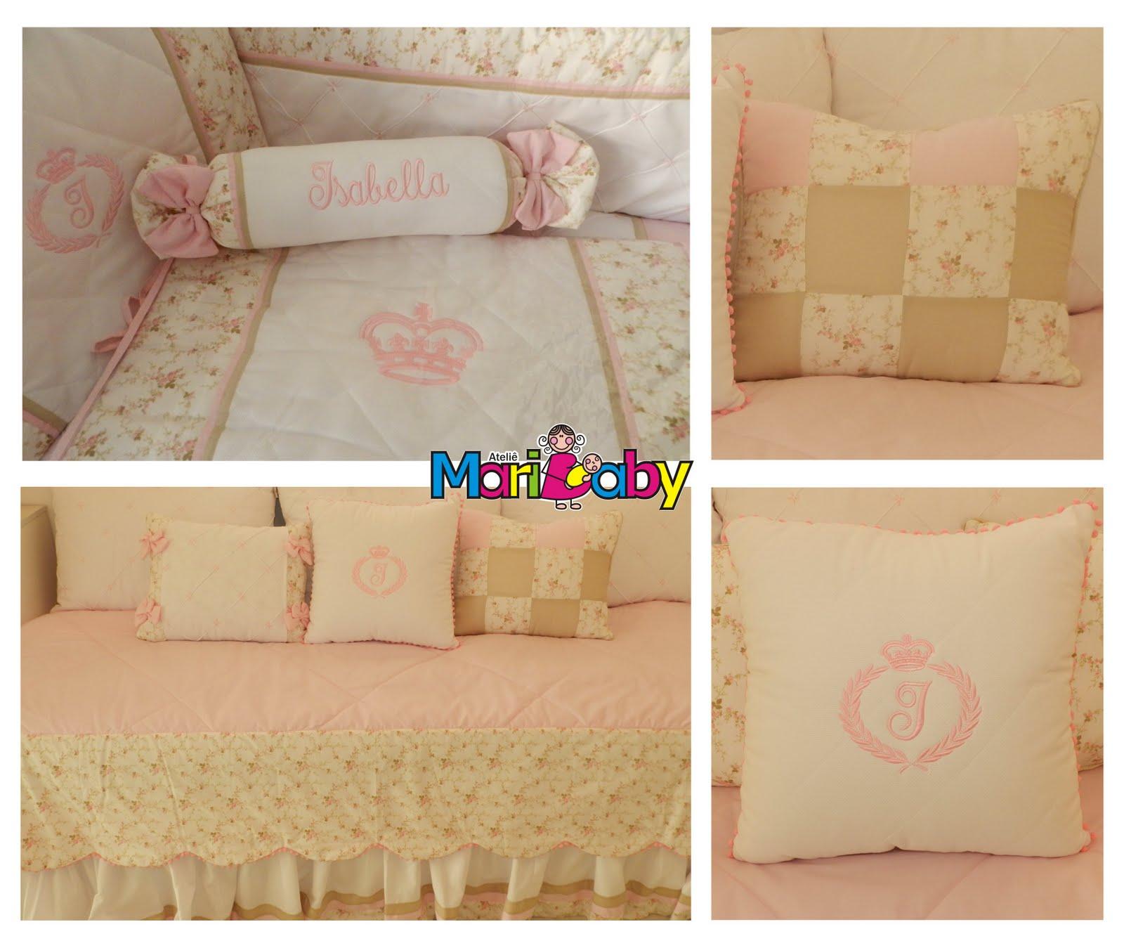 Ateliê Maribaby: Quarto rosa e bege #0086CB 1600x1349 Banheiro Bege E Rosa