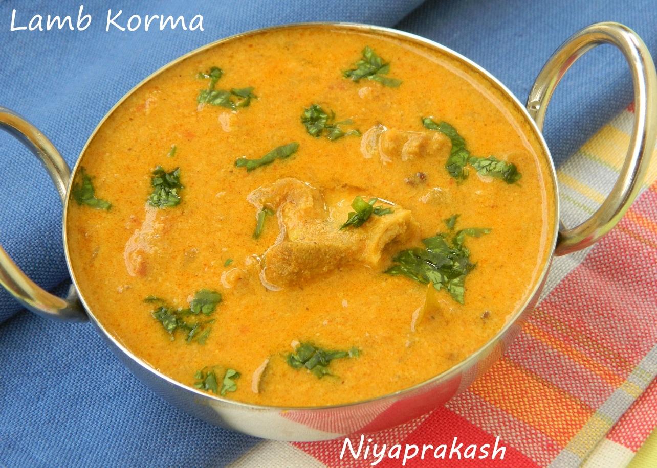 Niya S World Lamb Korma