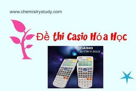 đề thi học sinh giỏi casio môn hóa học tỉnh thanh hóa năm 2012