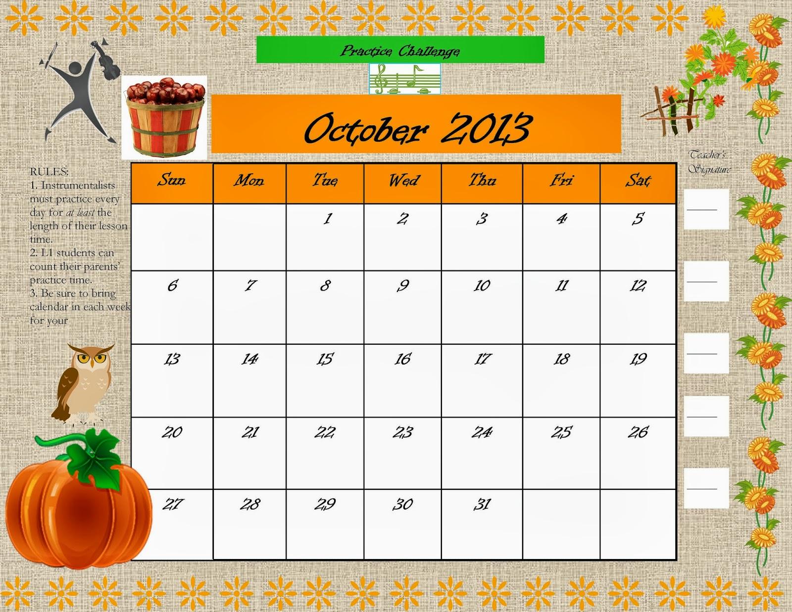 October Photo Challenge 2013 October practice challenge!