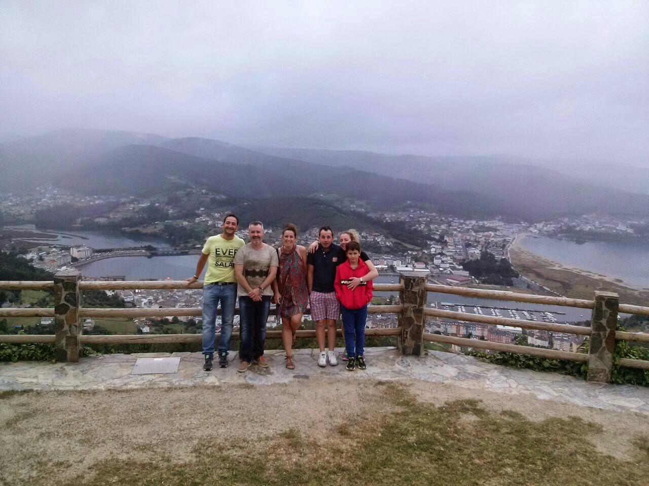 Viaje a Galicia: mirador de San Roque