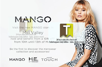 New MANGO Mid Valley sale offer