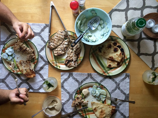 Middle Eastern Inspired Meal & Why We Make a Big Deal out of Dinner