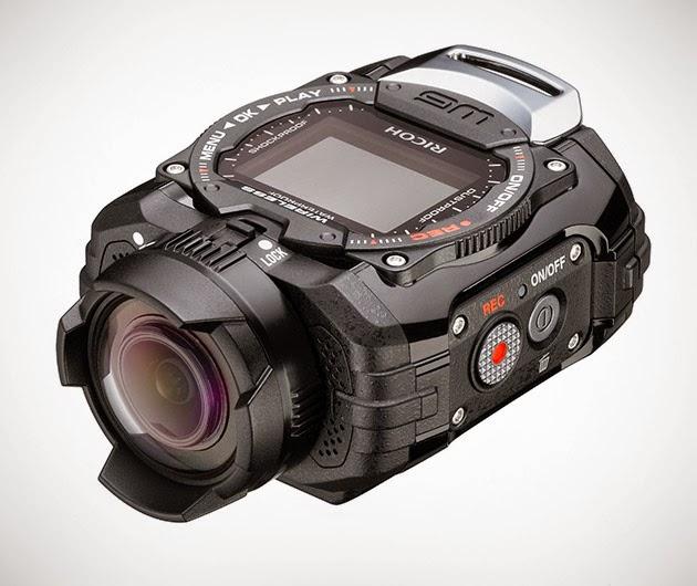 Ricoh WG-M1 Black Waterproof Action Video Camera