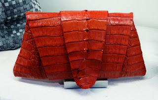 Juliette Jake Croc clutch.