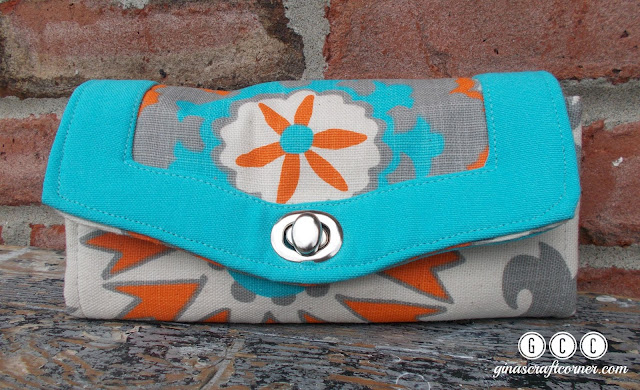 Necessary Clutch, Gina's Craft Corner
