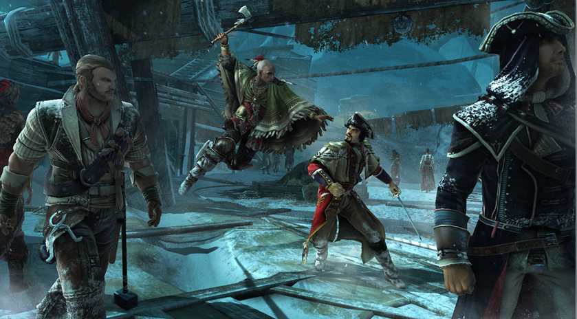 Assassins Creed III Action Adventure PC Game Free Downloads   PC ...