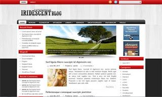 Iridescent WordPress Theme