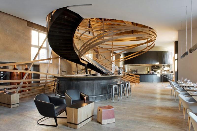 mejores diseños de interiores de bares y restaurantes del mundo, Les Haras