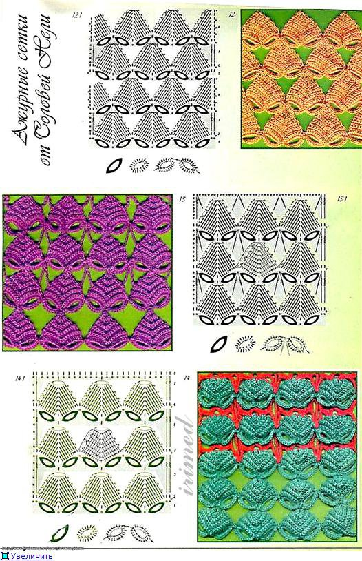 Как создать узор для вязания крючком