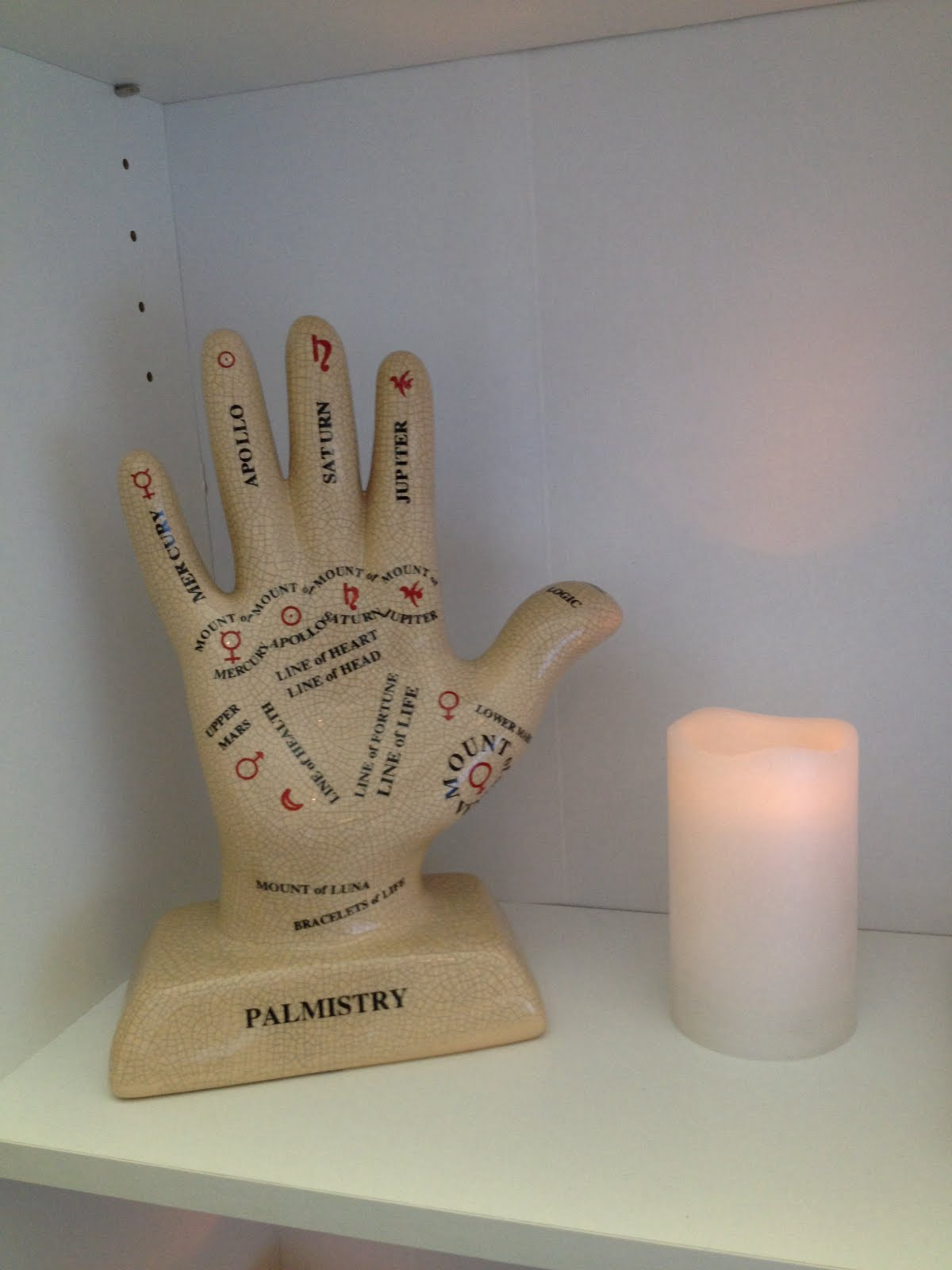 Palm reading!