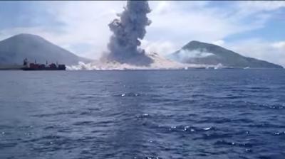 Papúa Nueva Guinea Erupción
