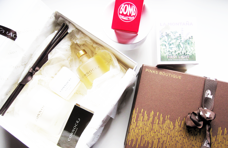4 Home Fragrance Gift Ideas from Bomb Cosmetics, Pinks Boutique, Connock London & La Montana