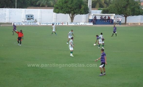 Palmeiras vence Cascavel por 3 a 1,  e assume a primeira colocação do grupo A do campeonato Paratinguense de Futebol 2013.