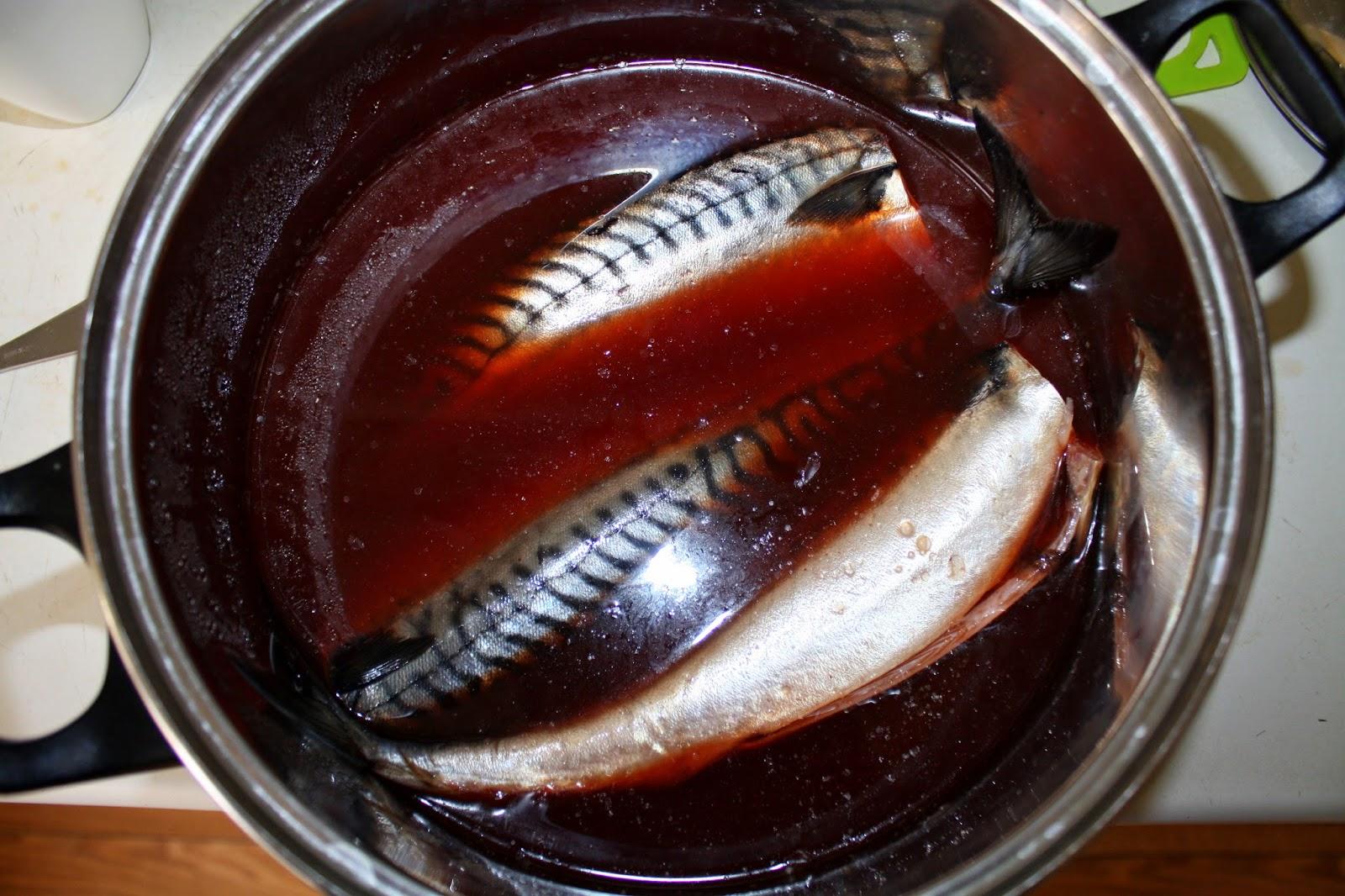 Подготовка рыбы скумбрия для копчения в домашних условиях