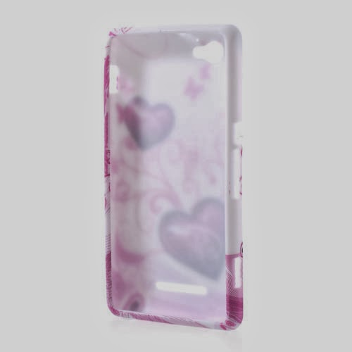 Sweet Hearts TPU Jelly Case for Sony Xperia M C1905 C1904 C2004 C2005