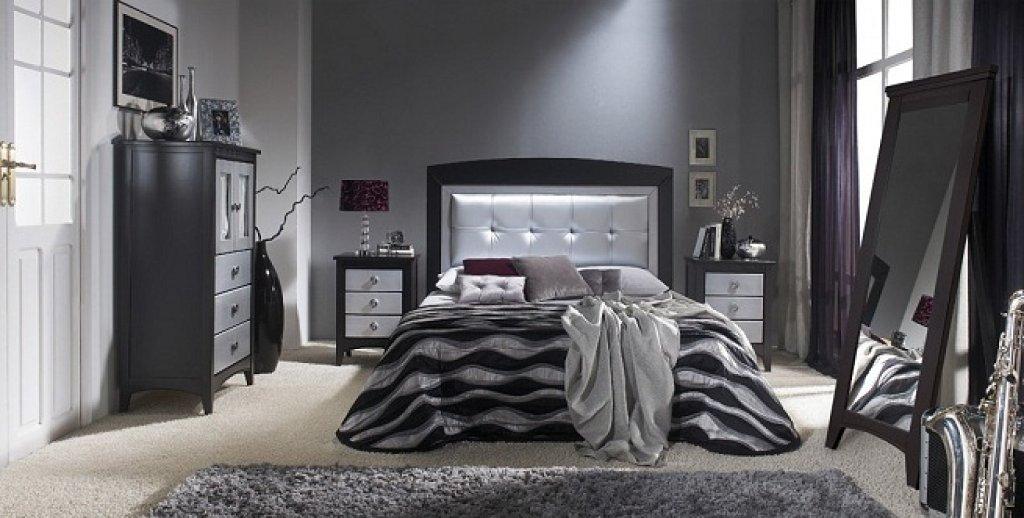 Decoracion actual de moda cortinas negras en la decoraci n - Cortinas gris plata ...